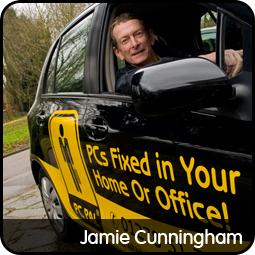 Jamie Cunningham in Taunton