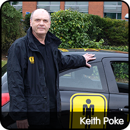 Keith Poke in Preston