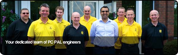 Your dedicated team of PC PAL engineers