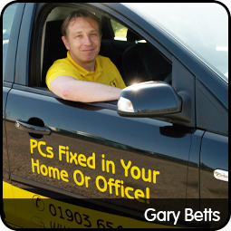 Gary Betts in Worthing