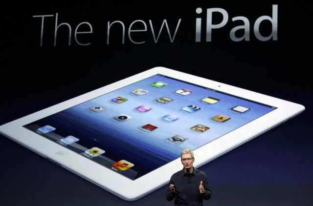 The new Apple iPad