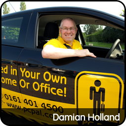 Damian Holland in Stockport