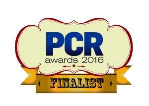 PCR awards 2016 finalist logo